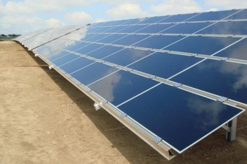 На Прикарпатье была запущена новая солнечная электростанция