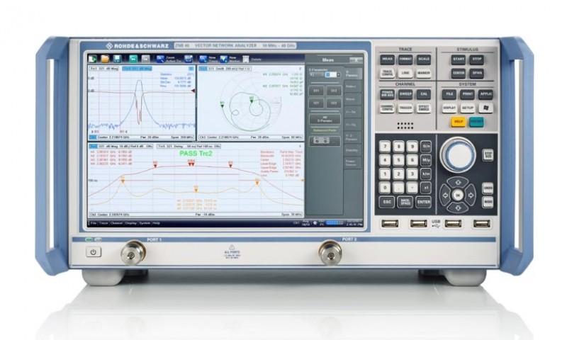 Компанией Rohde&Schwarz был представлен новый двухпортовый векторный анализатор цепей