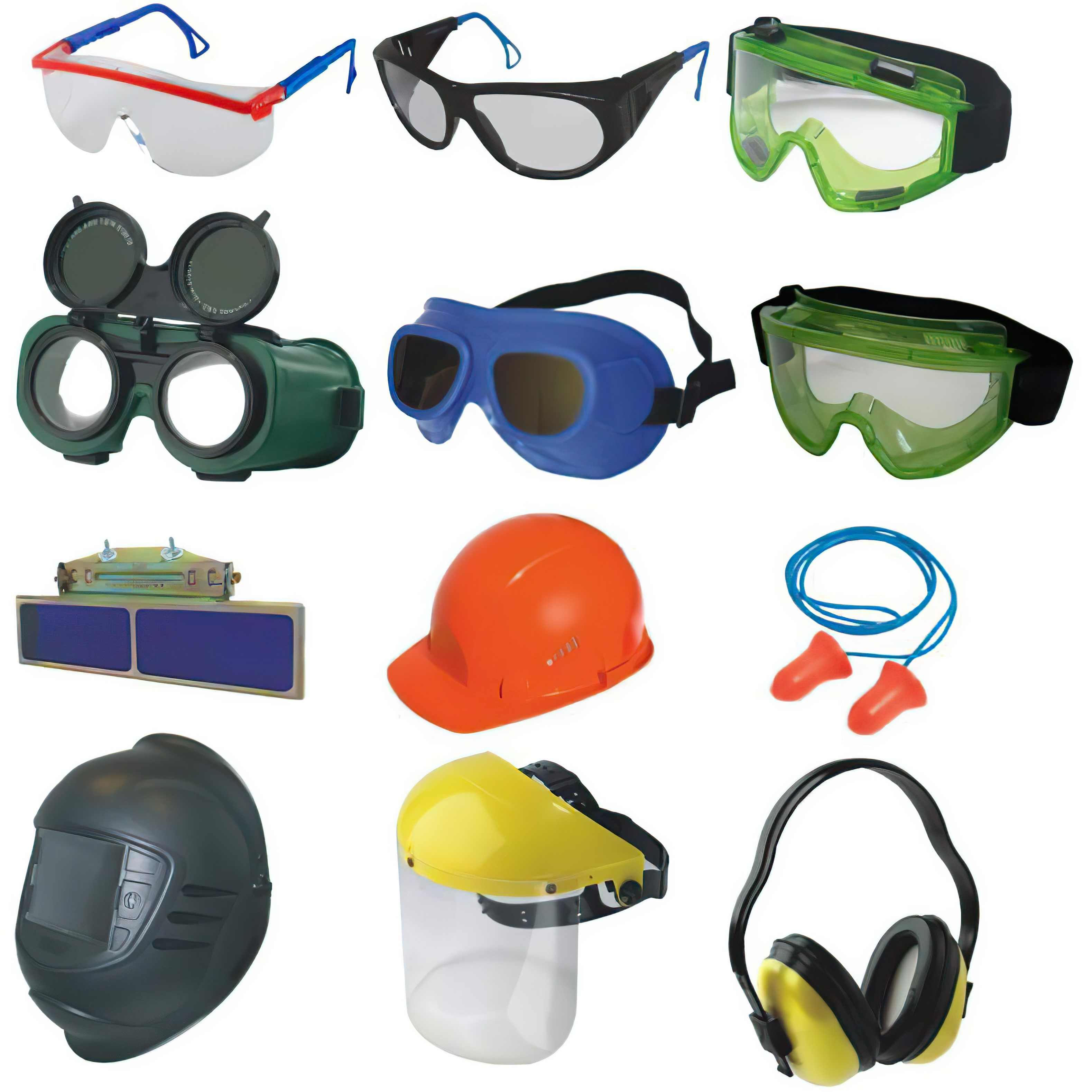 Средства защиты головы, глаз, лица