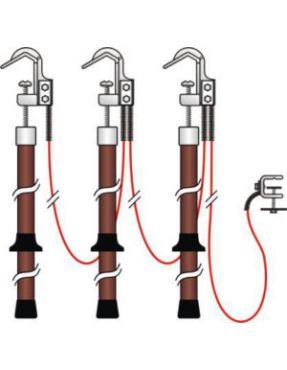Заземление переносное для РУ ПЗП-10-3(3)