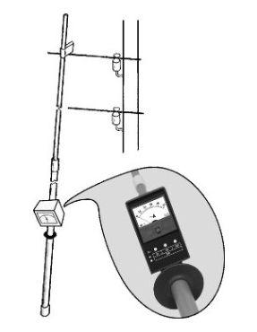 Измерительная штанга для выявления потерь электроэнергии Е115Ш