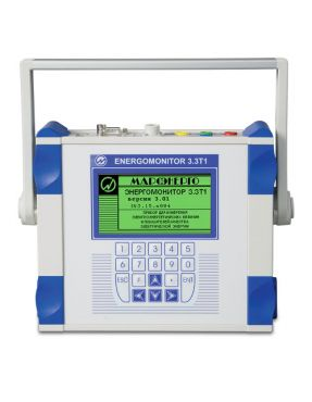 Прибор для измерений электроэнергетических величин и показателей качества электроэнергии ЭНЕРГОМОНИТОР 3.3.