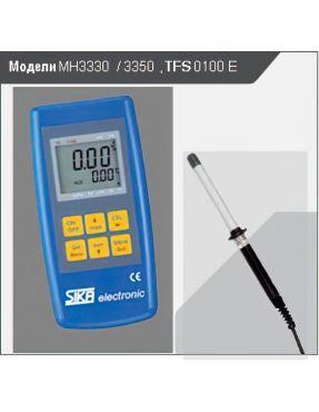 Ручной прибор для измерения влажности и температуры MH 3330