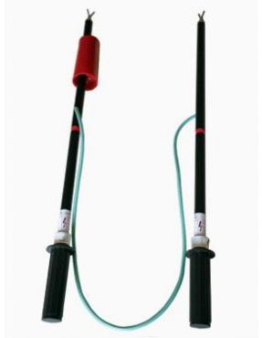 Указатель высокого напряжения для проверки совпадений фаз УВН80-2М/1-С с ТФ