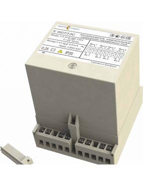 Преобразователь измерительный переменного тока и напряжения переменного тока Е 9527ЭС