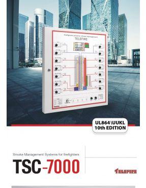 TSC-7000, Стандартная панель управления дымом - до 16 активаций