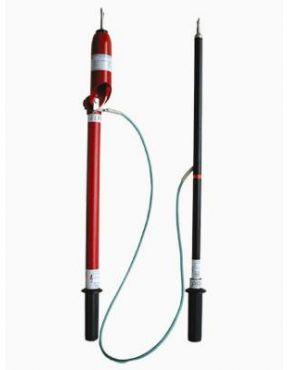 Указатель высокого напряжения для проверки совпадения фаз УВНУ-10СЗ ИП с ТФ